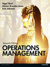 Operations Management by Prof. Nigel Slack, Robert Johnston, Alistair Brandon-Jones (Paperback, 2013)