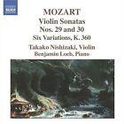 Wolfgang Amadeus Mozart - Mozart: Violin Sonatas Nos. 29 & 30; Six Variations, K. 360 (2006)