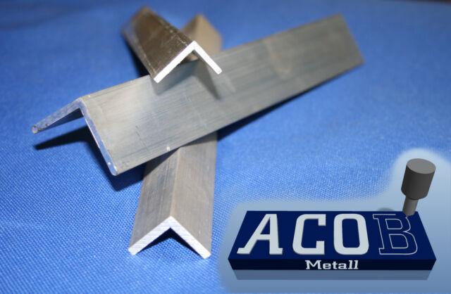Aluminium Winkel Alu Winkel Profil gleichsch. F22 AlMgSi0,5 10x10x2 - 80x80x5