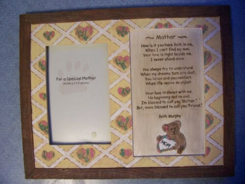 "The Boyds Collection ""Mother Photo Frame "" Style #27331 Retired with Box NEW"