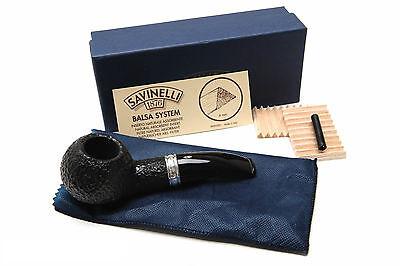 Savinelli Trevi Rustic 320 Tobacco Pipe