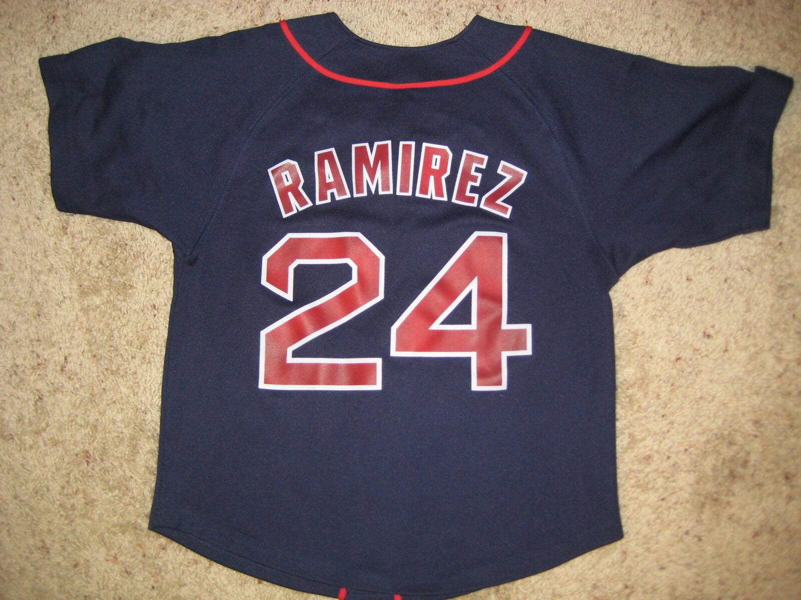 Manny Ramirez Boston Red Sox Jersey Youth SM 8 Small