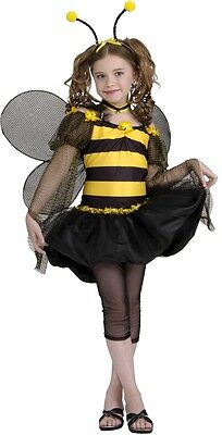 Sweet Bee Bumble Insect Animal Drama Queens Dress Up Halloween Teen Costume