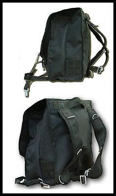INCANTATION  === Black Military Backpack === Various Designs