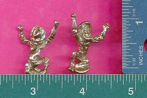 6 wholesale lead free pewter miner figurines C3015