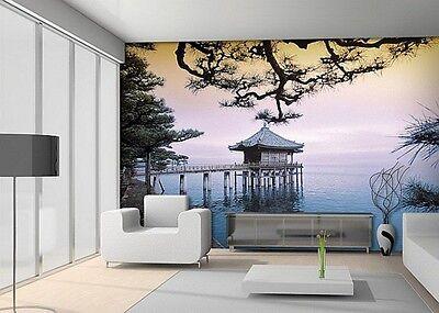 Zen Temple - Photo Wall Mural  Wallpaper