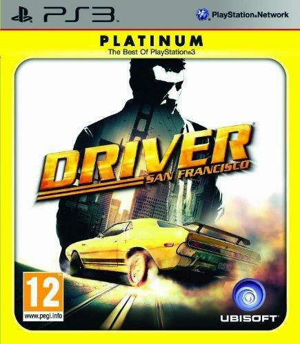 Driver: San Francisco Platinum Edition Sony PlayStation 3, 2011, Game -COMPLETE