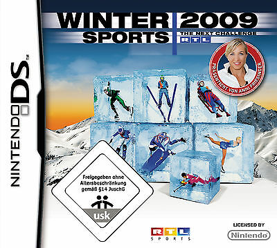 RTL Winter Sports 2009 - The Next Challenge (Nintendo DS, 2008)