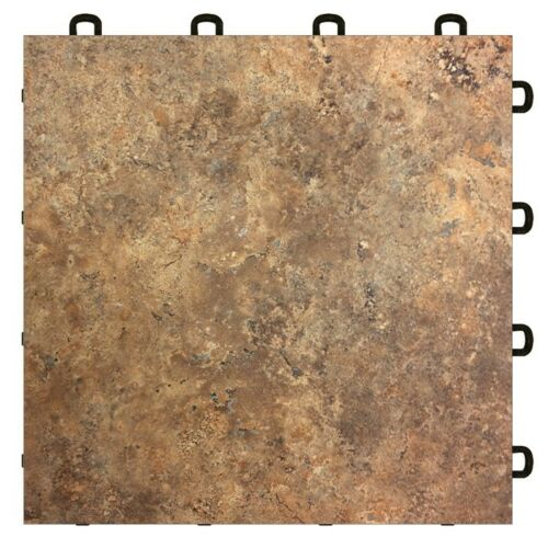 Basement Floor Tile Clay Sandstone - As Low As $3.98 - US MADE - FREE SHIPPING