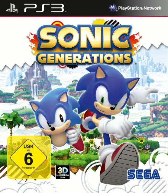 Sonic Generations PAL Version Sony PlayStation 3