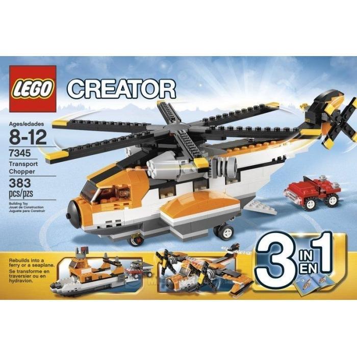 Lego Creator Transport Chopper 7345  - New in Sealed Box