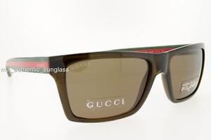 362ba390d87 Polarizado Gafas de sol GG Gucci 1013 53U SP 53USP Lente De Bronce ...