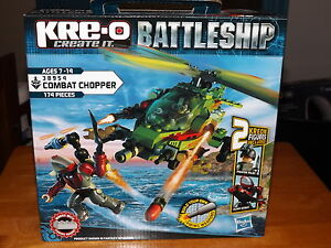 KREO BATTLESHIP COMBAT CHOPPER  KIT  38954 NEW IN BOX 2012 - Reading, Pennsylvania, United States - KREO BATTLESHIP COMBAT CHOPPER  KIT  38954 NEW IN BOX 2012 - Reading, Pennsylvania, United States