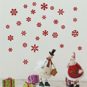 Christmas-Snowflakes-Decoration-Vinyl-Wall-Stickers-Wall-Art-Wall-Graphics