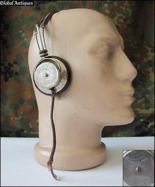WW2 ORIGINAL GERMAN WEHRMACHT RADIO HEADPHONES - ERPEES