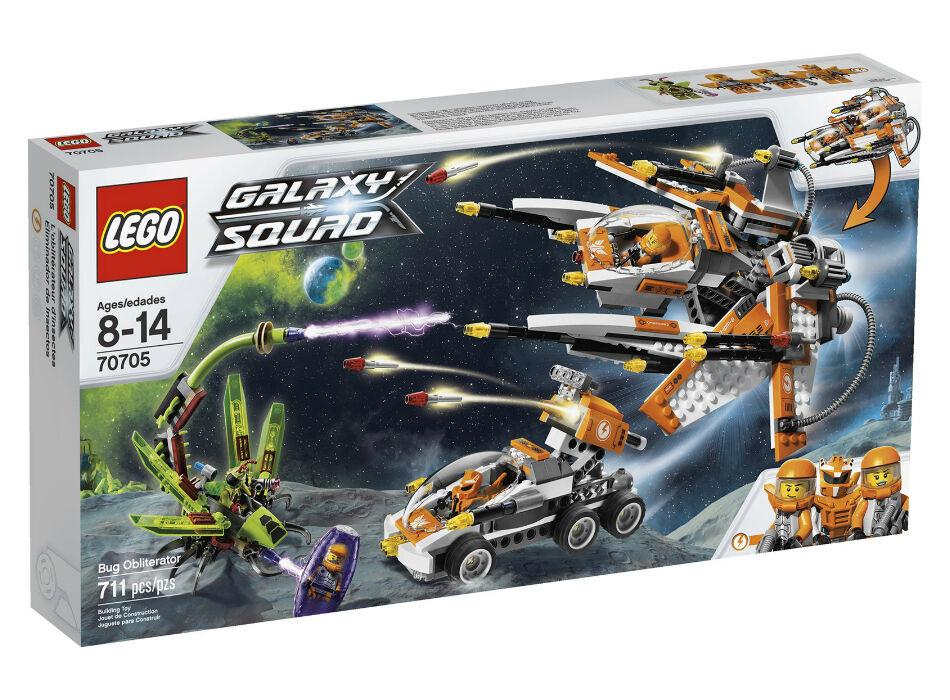 Nuevo Lego Galaxy Squad Bug Obliterator 70705 Free US Shipping Look