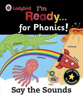Ladybird I'm Ready for Phonics Say the Sound-ExLibrary