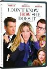I Dont Know How She Does It (DVD, 2012, Canadian)