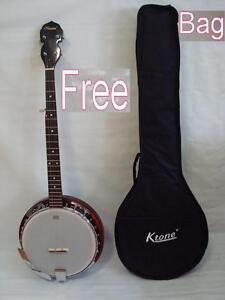 New-High-Quality-5-String-Banjo-Remo-Head-Free-Gig-Bag