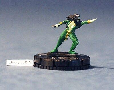 Marvel Heroclix Galactic Guardians 033 Gamora Rare