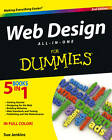 Web Design All-In-One for Dummies (R), 2nd Edition by Sue Jenkins (Paperback, 2013)