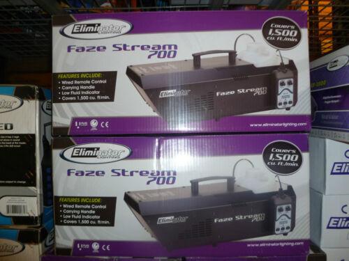 Eliminator Lighting Faze Stream 700! Hazer & Fogger in one!