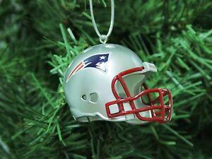 New England Patriots Football Helmet Christmas Ornament | eBay