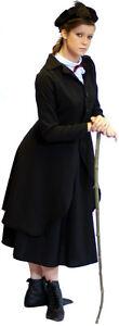 STEAMPUNK-VICTORIAN-FANCY-DRESS-Nanny-Mcphee-costume-Sizes-SML-PLUS