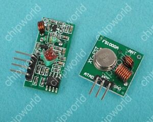 433Mhz-WL-RF-transmitter-and-receiver-link-kit-for-Arduino-ARM-MCU-good