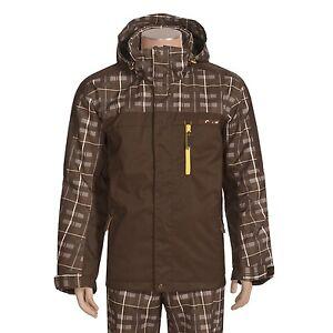 Descente Dna K Fed Ski Snowboard Jacket Size M