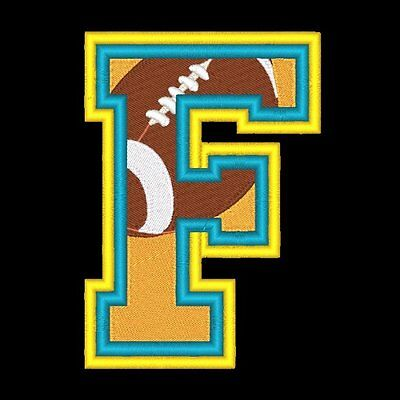VARSITY FOOTBALL - 78  MACHINE EMBROIDERY DESIGNS (AZEB)