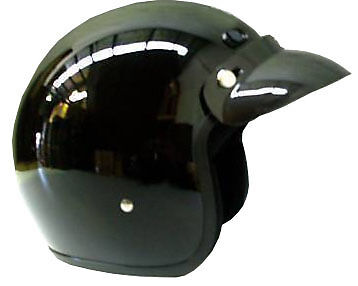 OPEN FACE HELMET MOTORCYCLE  MOTORBIKE ADULT HARLEY CRUISER SCOOTER  AS1698