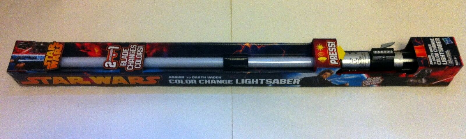 Hasbro Star Wars Anakin Skywalker Darth Vader Farbe Change FX Lightsaber 2013