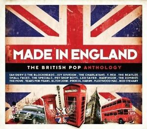 FREE US SHIP. on ANY 3+ CDs! ~Used,Very Good CD Various Artists: Made in England