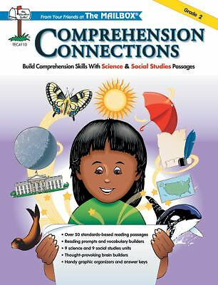 Comprehension Connections Grade 2: Build Comprehension Skills with Science & Soc
