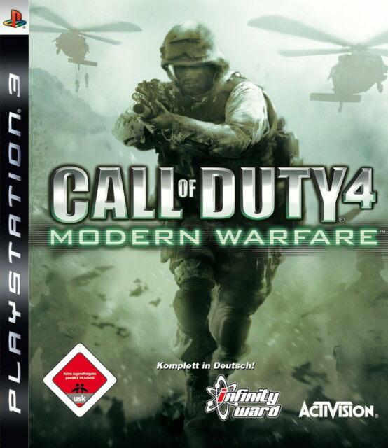 Call of Duty 4: Modern Warfare (Sony PlayStation 3, 2007) PS3 Spiel