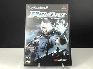 Psi-Ops-The-Mindgate-Conspiracy-Sony-PlayStation-2-2004-DISC-ONLY-FAST-PS2