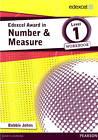 Edexcel Award in Number and Measure Level 1 Workbook by Bobbie Johns (Paperback, 2013)