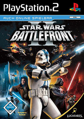 Star Wars: Battlefront II (Sony PlayStation 2, 2005, DVD-Box)