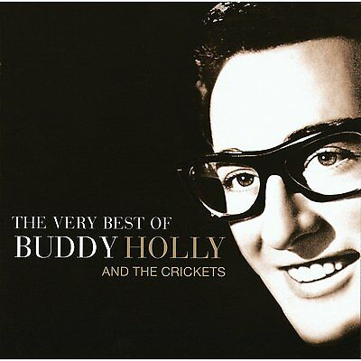 BUDDY HOLLY AND & THE CRICKETS (NEW CD) VERY BEST OF / GREATEST HITS COLLECTION