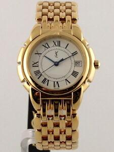 fake yves saint laurent bags - YSL Yves Saint Laurent Gold Plated Swiss Made Watch | eBay