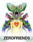 Zerofriends: A Collection of Art and Madness by Alex Pardee (Hardback, 2013)