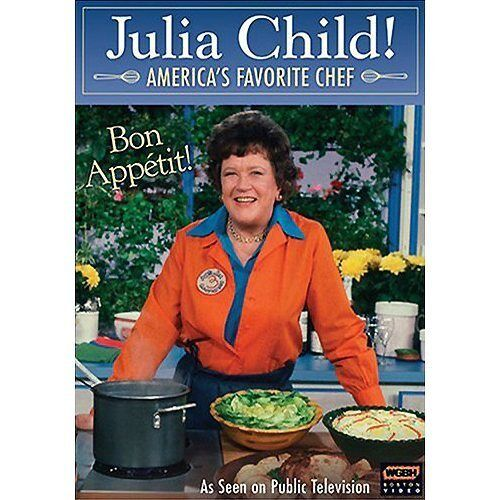JULIA CHILD-America's Favorite Chef PBS BIOGRAPHY DVD
