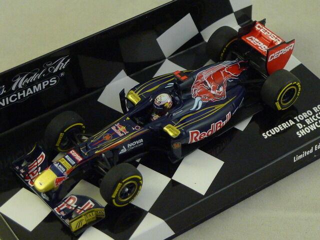 Bonne année, achat de recettes, cadeaux MINICHAMPS 410120086 - Scuderia Toro Rosso Showcar 2012 Ricciardio 1/43 | Elaborer  | La Qualité  | Discount  | Promotions