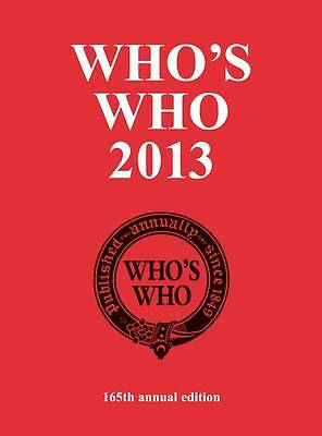 Who's Who 2013-ExLibrary