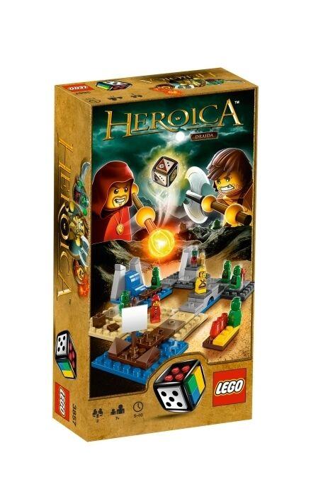 LEGO HEROICA Draida Bay 3857 BRAND NEW