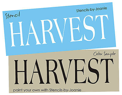 Country STENCIL Harvest Primitive Fall Garden Market Thanksgiving Home Art Signs