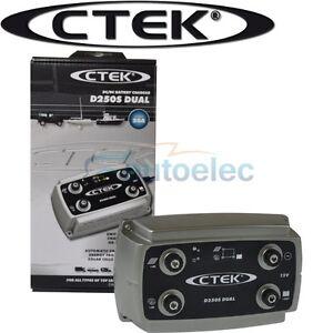 ctek d250s dual dc to dc solar battery charger 12v 12 volt. Black Bedroom Furniture Sets. Home Design Ideas