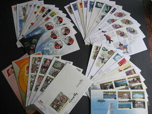 CANADA 36 different FDCs from 2003 a nice group here! PLZ read description!