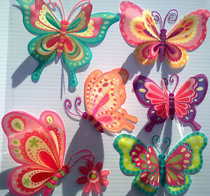 3D-Removable-Butterfly-Art-Decor-Wall-Stickers-Kids-Room-Decals-for-Girl